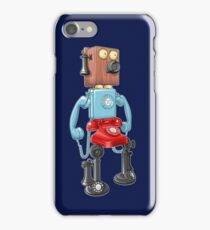 Smartphone Bot 8000 iPhone Case/Skin
