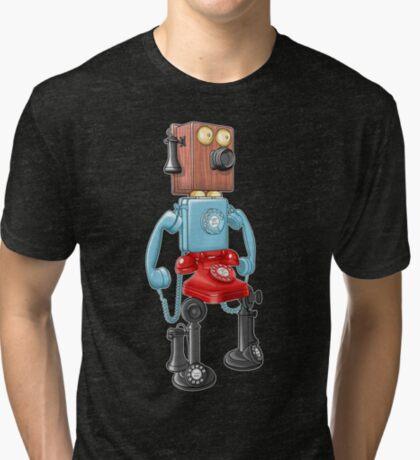 Smartphone Bot 8000 Tri-blend T-Shirt