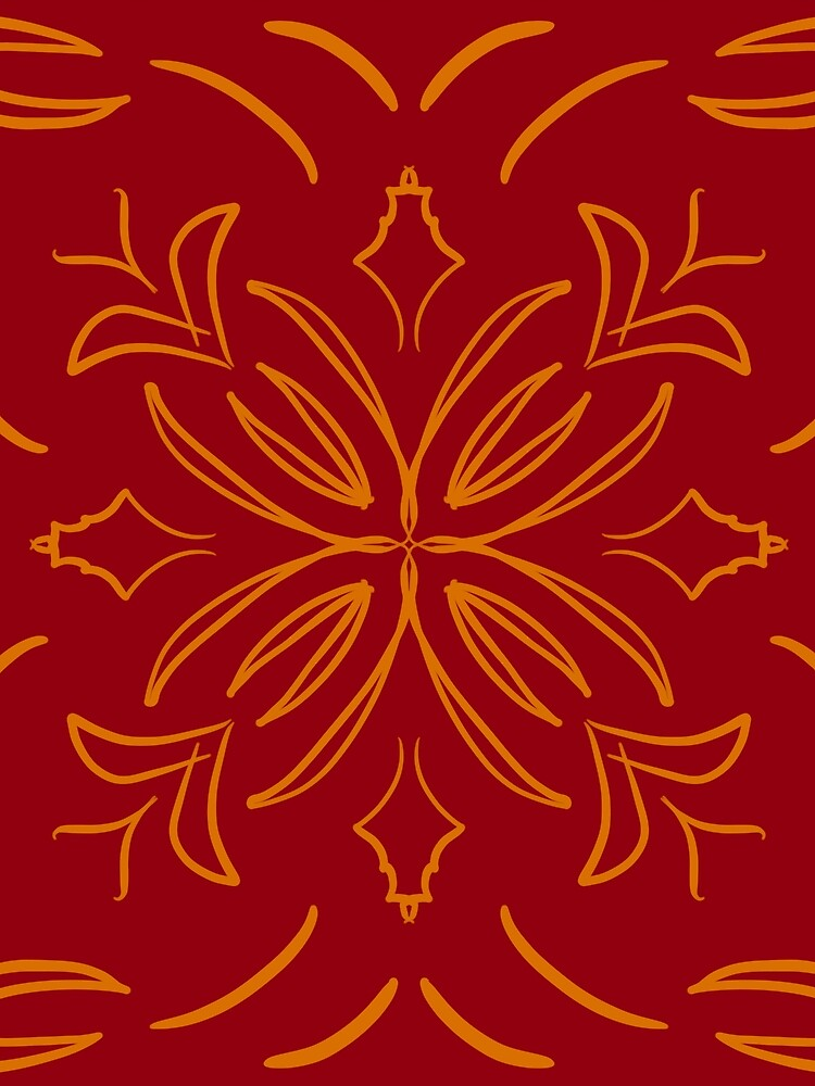 Red Classic Tile by roseglasses