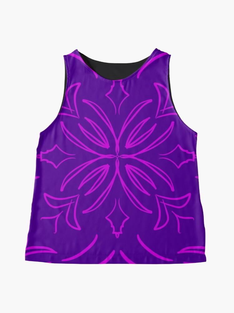 Alternate view of Classic Tile purple Sleeveless Top