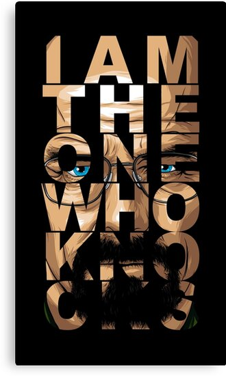 Walter White Knocks by denisosulli