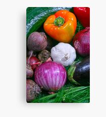 Food Canvas Print