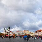 Prague's Old Town Centre by metronomad