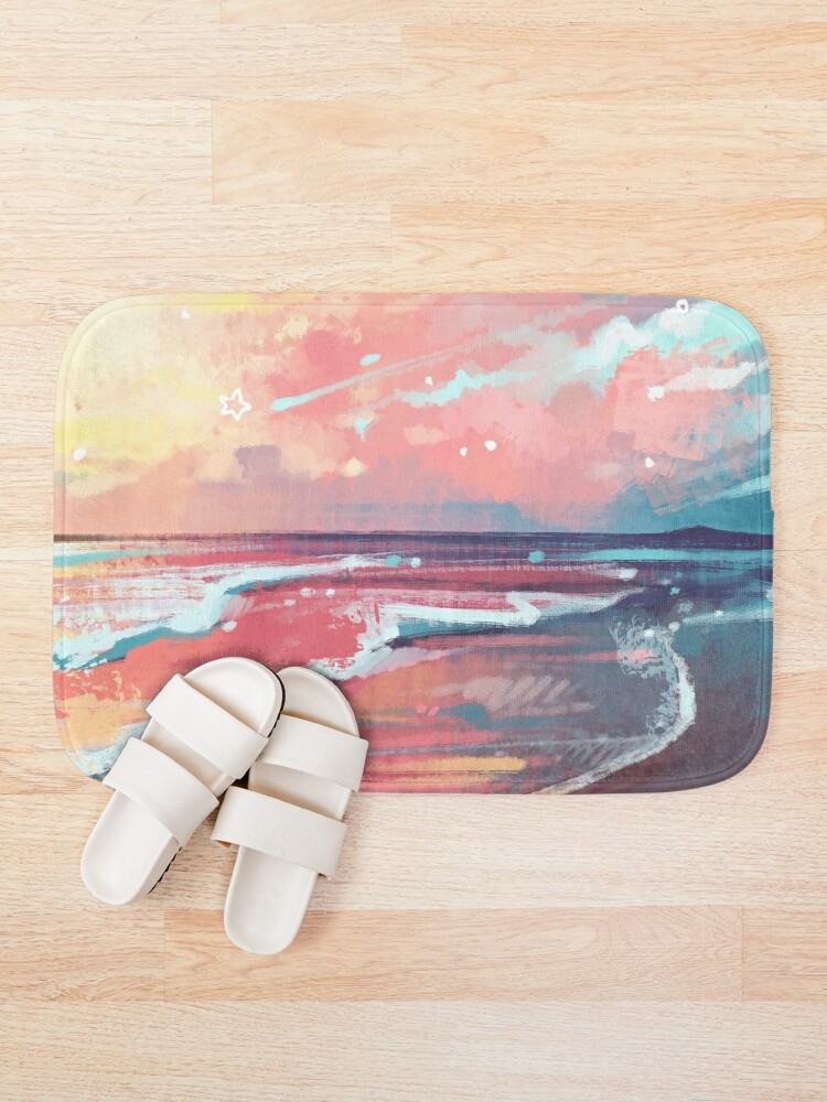 Alternate view of Study of the Sea Bath Mat