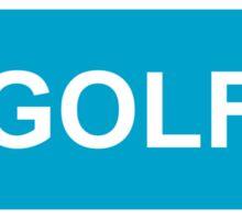 GOLF logo Sticker