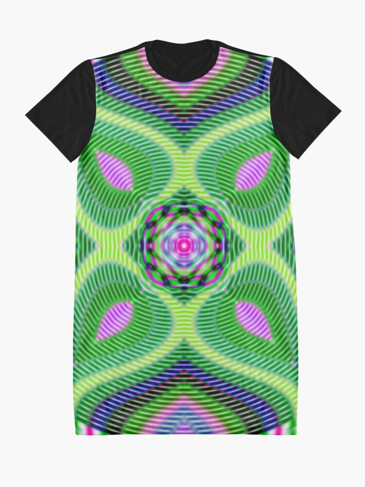 Alternate view of Untitled Graphic T-Shirt Dress