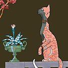 Carmen, Art Deco Cat by sneercampaign