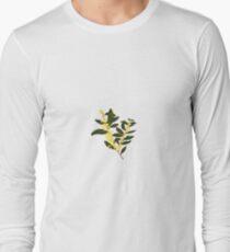 Australian Native Flora, Wattle Long Sleeve T-Shirt