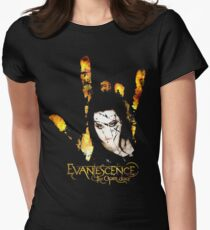 Evanescence - for black t-shirts Women's Fitted T-Shirt