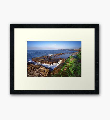 Bogey Hole Newcastle Framed Print