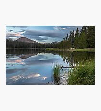 Tea Pot Lake in Utah Photographic Print