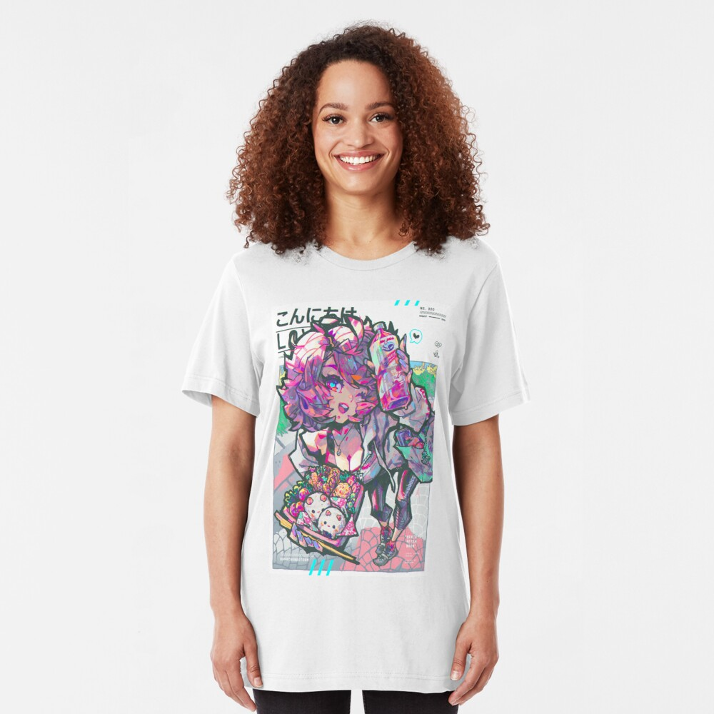 bento afternoon Slim Fit T-Shirt