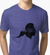 Omar is comin' Tri-blend T-Shirt
