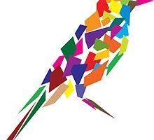 Abstract bird by Akhilesh