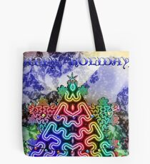 Happy Holidays Card Tote Bag