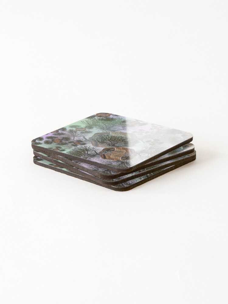 Alternate view of PINE AND PLANET Coasters (Set of 4)