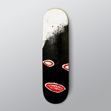 SIMPLY Skateboarding hand painted deck 01 by SteveLeadbeater