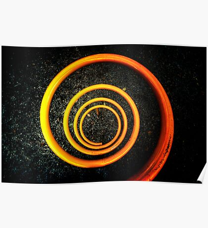 Orange Around Poster
