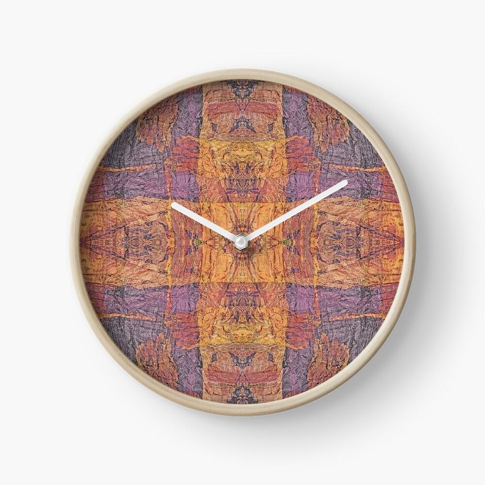 WARM WINTER WALLS OF ZION CANYON  Clock