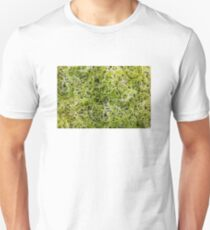 Clover sprouts background Unisex T-Shirt