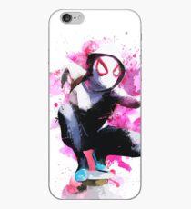 Vinilo o funda para iPhone Spider-Gwen - Splatter Art