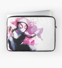 Spider-Gwen - Splatter Art Laptop Sleeve