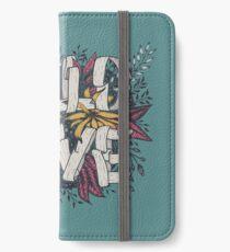 Wild Love - Green iPhone Wallet/Case/Skin