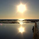 Sunrise at  Narrabeen Pool by Doug Cliff