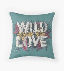 Wild Love - Green Floor Pillow