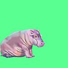 Baby Hippo by sneercampaign