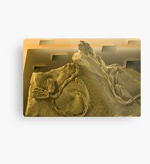 Surrealistic Fossils Metal Print