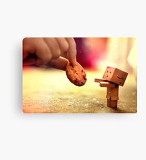 Gimmie that cookie Canvas Print