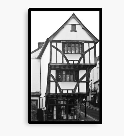 The House That Moved Canvas Print