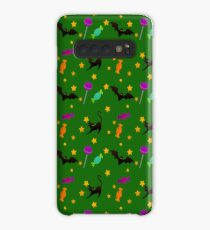 Bats, Cats, and Candy pattern Case/Skin for Samsung Galaxy