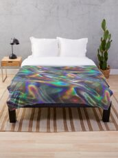 holographic Throw Blanket
