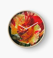 Impasto Rosa Clock