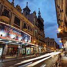 Teatro Reina Victoria, The Lights Show Goes On  by servalpe