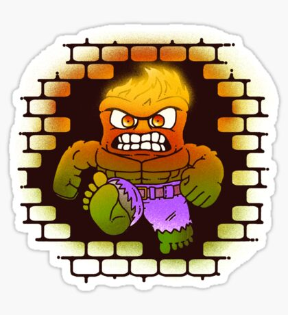 DONT MAKE HIM ANGRY Sticker