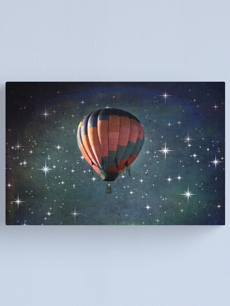 Alternate view of Off To Another Galaxy Canvas Print