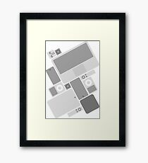 Apple Products Framed Print