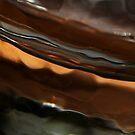 GLASS ON ORANGE by June Ferrol