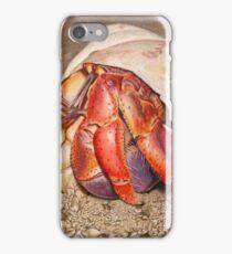 Hermit Crab Drawing iPhone Case/Skin