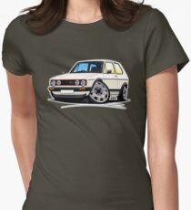 VW Golf (Mk1) GTi White T-Shirt