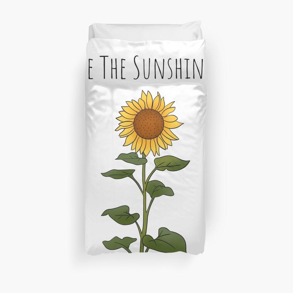 Be The Sunshine - Large Duvet Cover