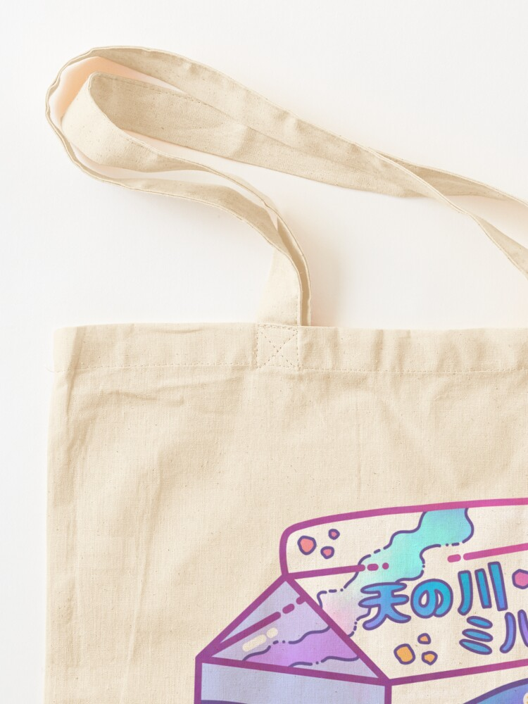 Alternate view of Milky Way Milk Carton Tote Bag