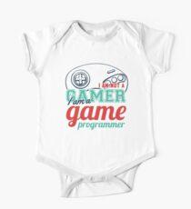 Gamer : I am not a gamer, I am a game programmer Kids Clothes