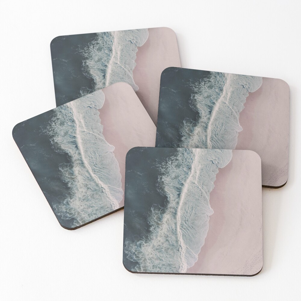 Sands of Cameo Pink Coasters (Set of 4)