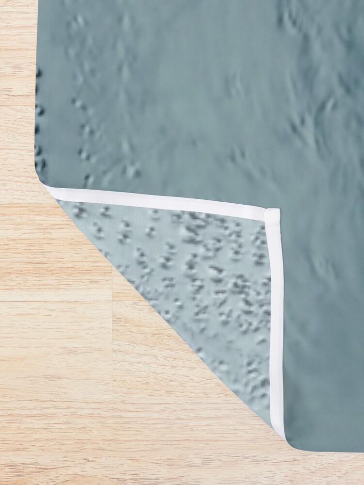 Alternate view of Deep Blue Shower Curtain