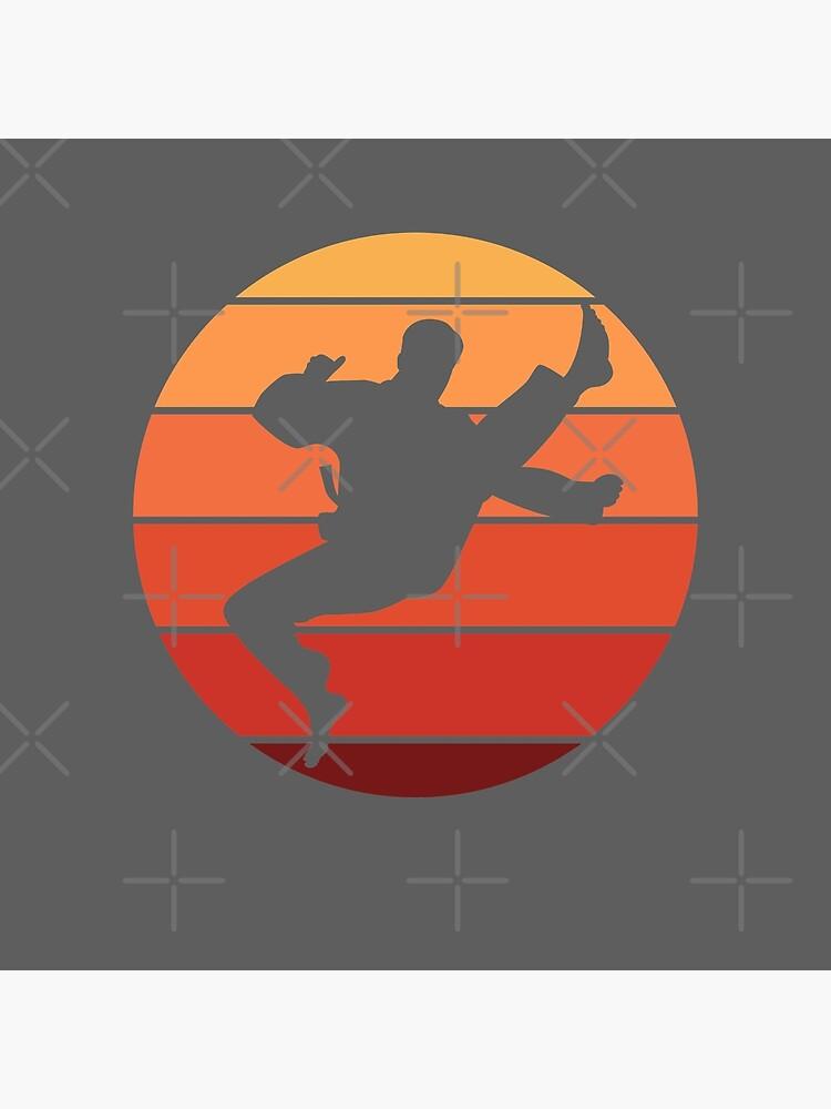 Kampfsport Silhouette von ShirTomDesigns