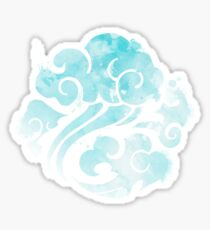The Gusu Lan Sect in Watercolor Style Sticker